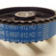 E-6697-912-HD TIMING BELT,GATES RACING 4 CYL