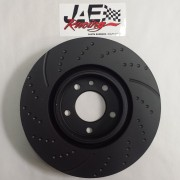 J-4380-082-HP BRAKE DISC, FRONT, SLOTTED, PAIR, RIGHT BACK